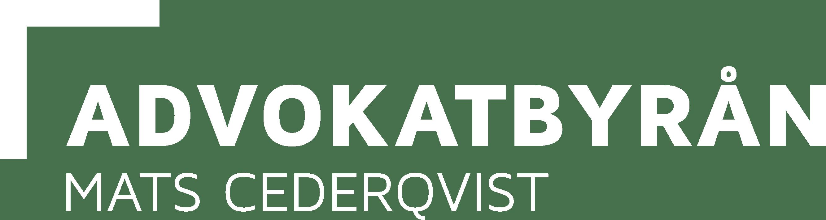 Advokatbyrån Mats Cederqvist